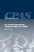 Le recouvrement des créances dans les CPAS